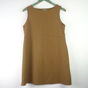 Ripe Australia Maternity Tan Mini Jumper Dress Med